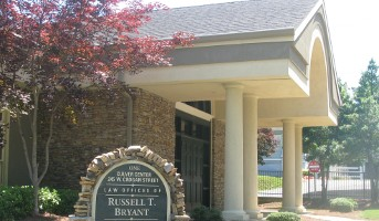 Front entrance of Russell T. Bryant Law Office